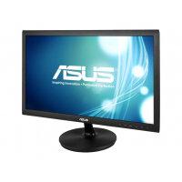 """ASUS VS228NE - LED Computer Monitor - 21.5"""" - 1920 x 1080 Full HD (1080p) - TN - 200 cd/m² - 1000:1 - 5 ms - DVI-D, VGA - black"""