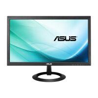 "ASUS VX207DE - LED Computer Monitor - 19.5"" - 1366 x 768 - TN - 200 cd/m² - 600:1 - 5 ms - VGA - black"