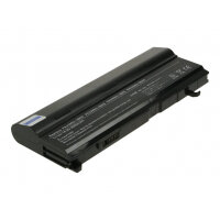 2-Power Main Battery Pack - Laptop battery - 1 x Lithium Ion 8800 mAh - black - for Toshiba Tecra A4