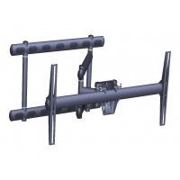 "Vogel's PFW 6852 - Mounting kit (full articulation swingout mount) for LCD / plasma panel - black - screen size: 37""-68"" - wall-mountable"