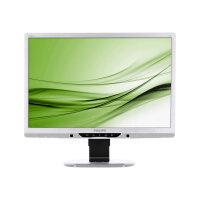 "Philips Brilliance B-line 221B3LPCS - LED Computer Monitor - 21.5"" - 1920 x 1080 Full HD (1080p) - 250 cd/m² - 1000:1 - 5 ms - DVI-D, VGA - speakers - textured silver"
