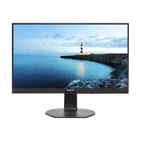"""Philips Brilliance B-line 272B7QPJEB - LED monitor - 27"""" - 2560 x 1440 - IPS - 350 cd/m² - 1000:1 - 5 ms - HDMI, VGA, DisplayPort - speakers - textured black"""