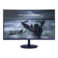 "Samsung CH58 Series C27H580FDU - LED Computer Monitor - curved - 27"" (27"" viewable) - 1920 x 1080 Full HD (1080p) - VA - 250 cd/m² - 3000:1 - 4 ms - HDMI, VGA, DisplayPort - blue black"