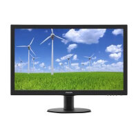 """Philips S-line 243S5LDAB - LED Computer Monitor - 24"""" (23.6"""" viewable) - 1920 x 1080 Full HD (1080p) - 1000:1 - 1 ms - HDMI, DVI-D, VGA - speakers - black with hairline texture"""