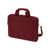 "Dicota Slim Case BASE - Notebook carrying case - Laptop Bag - 11"" - 12.5"" - red"