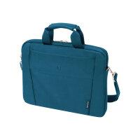 "Dicota Slim Case BASE - Notebook carrying case - Laptop Bag - 13"" - 14.1"" - blue"