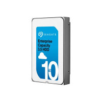 "Seagate Enterprise Capacity 3.5 HDD V.6 (Helium) ST10000NM0206 - Hard drive - 10 TB - internal - 3.5"" - SAS 12Gb/s - 7200 rpm - buffer: 256 MB"