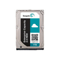 "Seagate Enterprise Capacity 2.5 HDD ST1000NX0363 - Hard drive - encrypted - 1 TB - internal - 2.5"" SFF - SAS 12Gb/s - NL - 7200 rpm - buffer: 128 MB - Self-Encrypting Drive (SED)"