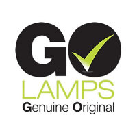 GO Lamps - Projector lamp (equivalent to: BenQ 5J.JA105.001) - 190 Watt - 4500 hour(s) (standard mode) / 6500 hour(s) (economic mode) - for BenQ MS521, MW523, MX522