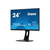 "Iiyama ProLite XUB2495WSU-B1 - LED Computer Monitor - 24"" - 1920 x 1200 - IPS - 300 cd/m² - 1000:1 - 5 ms - HDMI, VGA, DisplayPort - speakers - black"