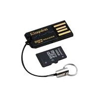 Kingston USB microSD Reader - Card reader (microSD, microSDHC) - USB 2.0