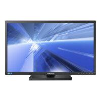 "Samsung SE650 Series S24E650PL - LED Computer Monitor - 23.6"" - 1920 x 1080 Full HD (1080p) - Plane to Line Switching (PLS) - 250 cd/m² - 1000:1 - 4 ms - HDMI, VGA, DisplayPort - speakers - black"