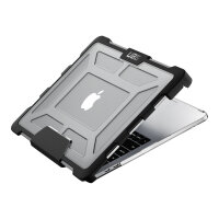 """UAG Plasma Series Rugged Case for MacBook Pro 13-inch with or without Touch Bar (4th Gen) - Notebook top and rear cover - 13"""" - transparent, ice - for Apple MacBook Pro 13.3"""" (Late 2016)"""