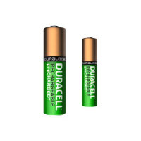 Duracell PreCharged BUN0044A - Battery 4 x AA type NiMH ( rechargeable ) - with 4 x AAA NiMH rechargeable batteries