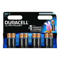 Duracell Ultra Power MX1500B8 - Battery 8 x AA type - Alkaline
