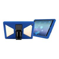 Max Cases Shield Xtreme-S Case - Sleek Version - Protective case for tablet - rugged - silicone - blue - for Apple 9.7-inch iPad (5th generation)