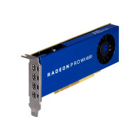 Radeon Pro WX4100 - Graphics card - Radeon Pro WX 4100 - 4 GB GDDR5 - PCIe 3.0 x16 - 4 x Mini DisplayPort
