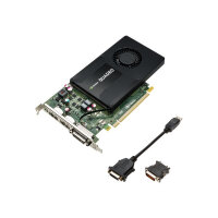 NVIDIA Quadro K2200 - Graphics card - Quadro K2200 - 4 GB GDDR5 - PCIe 2.0 x16 - DVI, 2 x DisplayPort