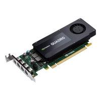 NVIDIA Quadro K1200 - Graphics card - Quadro K1200 - 4 GB GDDR5 - PCIe 2.0 x16 low profile - 4 x Mini DisplayPort - for Workstation Z230, Z240, Z440, Z640, Z840