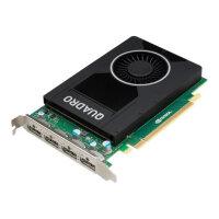 NVIDIA Quadro M2000 - Graphics card - Quadro M2000 - 4 GB GDDR5 - PCIe 3.0 x16 - 4 x DisplayPort - for ProLiant ML110 Gen9, ML110 Gen9 Base, ML110 Gen9 Entry