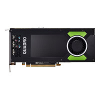 NVIDIA Quadro P4000 - Graphics card - Quadro P4000 - 8 GB GDDR5 - PCIe 3.0 x16 - 4 x DisplayPort - retail