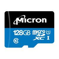 Micron - Flash memory card - 128 GB - A1 / UHS-I U1 / Class10 - microSDXC UHS-I