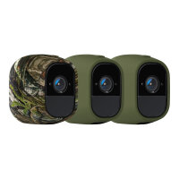 Arlo Pro Skins - Camera protective cover - indoor, outdoor - green, camouflage