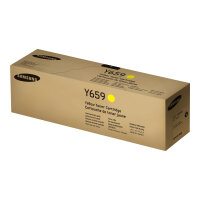 Samsung CLT-Y659S - Yellow - original - toner cartridge (SU570A) - for MultiXpress CLX-8640, CLX-8641, CLX-8642, CLX-8650, CLX-8651, CLX-8652; ProXpress SL-C4821