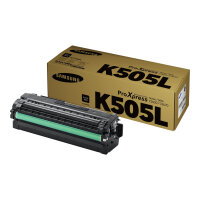Samsung CLT-K505L - High Yield - black - original - toner cartridge (SU168A) - for ProXpress SL-C2620DW, SL-C2670FW, SL-C2680FX