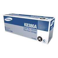 Samsung CLX-K8380A - Black - original - toner cartridge (SU584A) - for Samsung CLX-8380ND, CLX-8380NDG, CLX-8380NI, CLX-8385ND