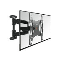 "Vogel's BASE 45 L - Wall mount for plasma / LCD / TV (Tilt & Turn) - black - screen size: 40""-65"""