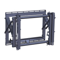 "Vogel's Professional PFW 6870 - Wall mount for LCD / plasma panel - black - screen size: 37""-65"""