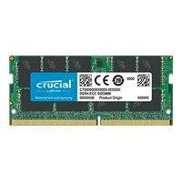Crucial - DDR4 - 16 GB - SO-DIMM 260-pin - 2666 MHz / PC4-21300 - CL19 - 1.2 V - unbuffered - ECC