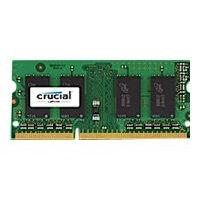 Crucial - DDR3L - 2 GB - SO-DIMM 204-pin - 1600 MHz / PC3-12800 - CL11 - 1.35 V - unbuffered - non-ECC