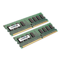 Crucial - DDR2 - 2 GB: 2 x 1 GB - DIMM 240-pin - 800 MHz / PC2-6400 - CL6 - 1.8 V - unbuffered - non-ECC