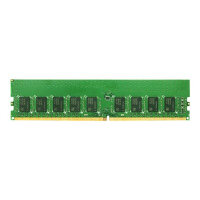 Synology - DDR4 - 16 GB - DIMM 288-pin - 2133 MHz / PC4-17000 - CL15 - 1.2 V - unbuffered - ECC - for RackStation RS2418+, RS3617RPxs, RS3617xs+, RS3618XS