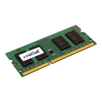 Crucial - DDR3L - 8 GB - SO-DIMM 204-pin - 1600 MHz / PC3-12800 - CL11 - 1.35 V - unbuffered - non-ECC