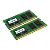 Crucial - DDR3L - 8 GB: 2 x 4 GB - SO-DIMM 204-pin - 1600 MHz / PC3-12800 - CL11 - 1.35 V - unbuffered - non-ECC