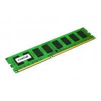 Crucial - DDR3 - 8 GB - DIMM 240-pin - 1600 MHz / PC3-12800 - unbuffered - ECC