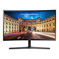 "Samsung CF398 Series C27F398FWU - LED Computer Monitor - curved - 27"" - 1920 x 1080 Full HD (1080p) - VA - 250 cd/m² - 3000:1 - 4 ms - HDMI, DisplayPort - shiny black"