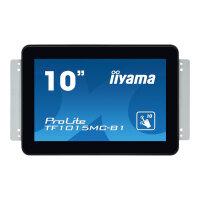 "Iiyama ProLite TF1015MC-B1 - LED Computer Monitor - 10.1"" - open frame - touchscreen - 1280 x 800 - VA - 500 cd/m² - 1300:1 - 25 ms - HDMI, VGA, DisplayPort - black"