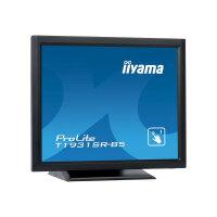 "Iiyama ProLite T1931SR-B5 - LED Computer Monitor - 19"" - touchscreen - 1280 x 1024 - TN - 250 cd/m² - 1000:1 - 5 ms - HDMI, VGA, DisplayPort - speakers - matte black"