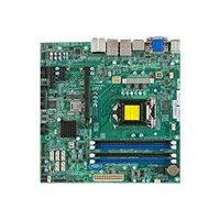SUPERMICRO X10SLQ - Motherboard - micro ATX - LGA1150 Socket - Q87 - USB 3.0 - 2 x Gigabit LAN - onboard graphics (CPU required) - HD Audio (8-channel)