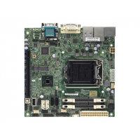 SUPERMICRO X10SLV-Q - Motherboard - mini ITX - LGA1150 Socket - Q87 - USB 3.0 - 2 x Gigabit LAN - onboard graphics (CPU required) - HD Audio (8-channel)