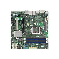 SUPERMICRO X11SAE-M - Motherboard - micro ATX - LGA1151 Socket - C236 - USB 3.0, USB 3.1 - 2 x Gigabit LAN - onboard graphics (CPU required) - HD Audio (8-channel)