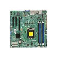 SUPERMICRO X10SLH-F - Motherboard - micro ATX - LGA1150 Socket - C226 - USB 3.0 - 2 x Gigabit LAN - onboard graphics