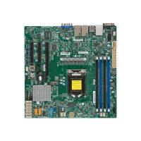 SUPERMICRO X11SSH-F - Motherboard - micro ATX - LGA1151 Socket - C236 - USB 3.0 - 2 x Gigabit LAN - onboard graphics