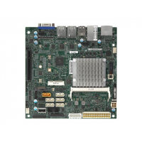 SUPERMICRO X11SAA - Motherboard - mini ITX - Intel Pentium N4200 - USB 3.0 - 2 x Gigabit LAN - onboard graphics - HD Audio