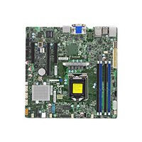 SUPERMICRO X11SSZ-QF - Motherboard - micro ATX - LGA1151 Socket - Q170 - USB 3.0 - 2 x Gigabit LAN - onboard graphics - HD Audio
