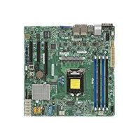 SUPERMICRO X11SSH-LN4F - Motherboard - micro ATX - LGA1151 Socket - C236 - USB 3.0 - 4 x Gigabit LAN - onboard graphics